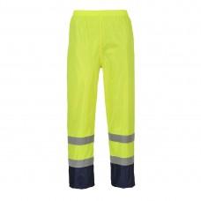 Portwest H444 Hi-Vis Classic Contrast Rain Trousers